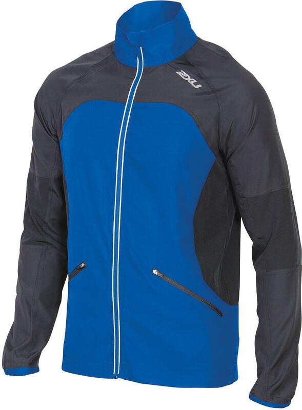 2XU M's Tech 360 Jacket Cobalt Blue/Ink S 2017 Løpejakker
