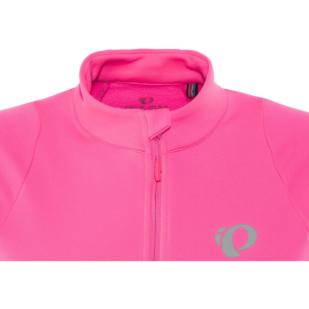 PEARL iZUMi Select Pursuit Thermal Jersey Dam screaming pink whirl