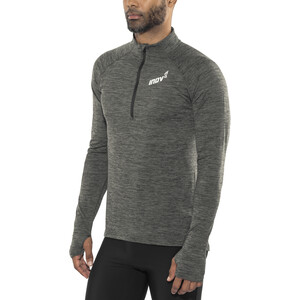 inov-8 Train Elite Mid LS Zip Langarmshirt Herren dark grey dark grey