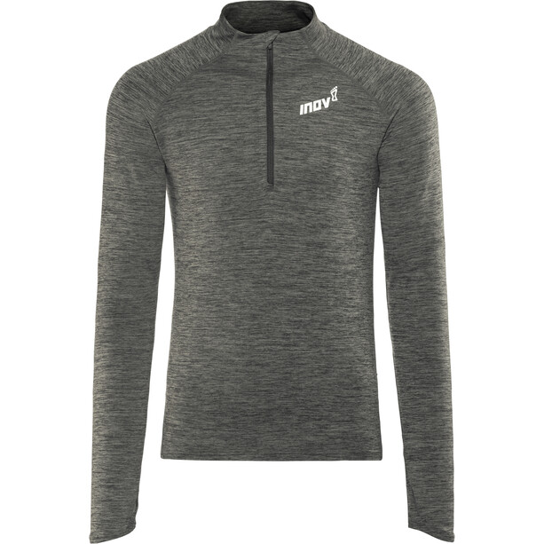 inov-8 Train Elite Mid LS Zip Langarmshirt Herren dark grey