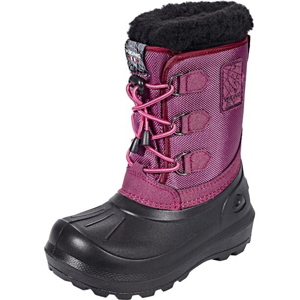 Viking Footwear Istind Stiefel Kinder dark pink/black