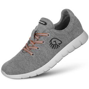 Giesswein Merino Wool Chaussures de running Femme, gris gris