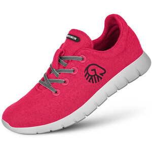 Giesswein Merino Wool Juoksukengät Naiset, vaaleanpunainen vaaleanpunainen