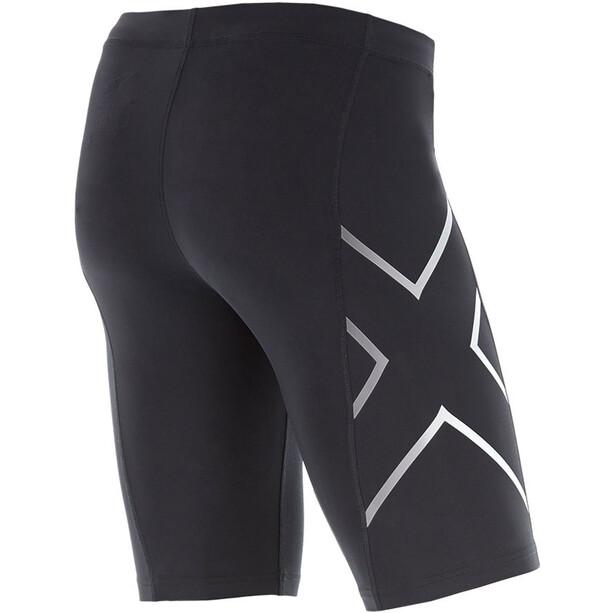 2XU TR2 Compression Shorts Herr black/silver