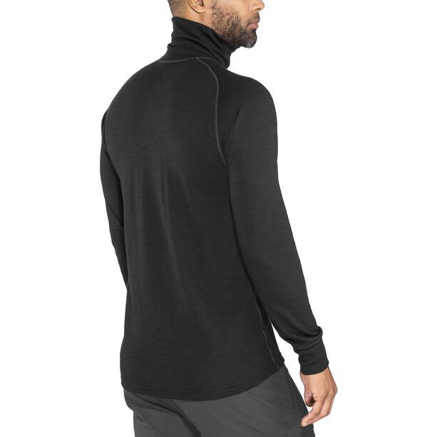 Devold Duo Active Zip Shirt Herren black