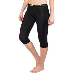 Devold Wool Mesh Zip-Off Capri Hose Damen black black