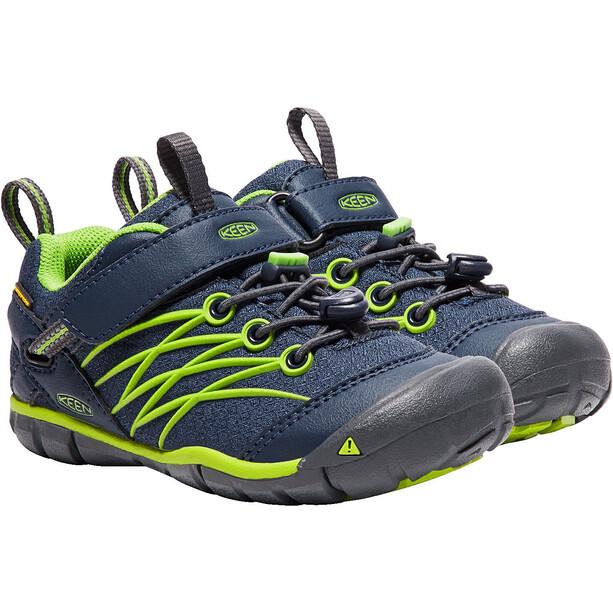 Keen Chandler CNX WP Schuhe Kinder dress blues/greenery