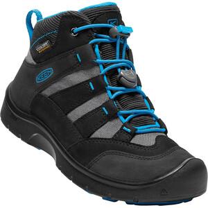 Keen Hikeport Mid WP Schuhe Kinder black/blue jewel black/blue jewel