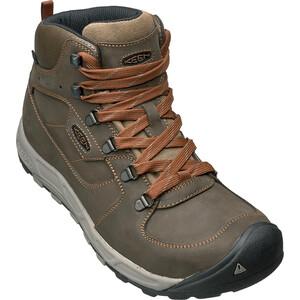Keen Westward Leather WP Mid-Cut Schuhe Herren dark olive/rust dark olive/rust