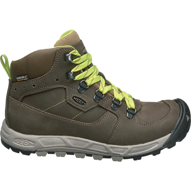 Keen Westward Leather WP Mid-Cut Schuhe Damen raven/opaline