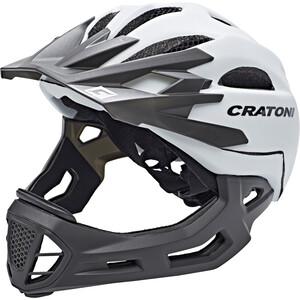 Cratoni C-Maniac Freeride Kypärä, valkoinen valkoinen