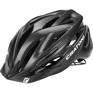 Cratoni Pacer Helm schwarz schwarz