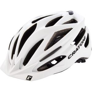 Cratoni Pacer Helm white matt white matt