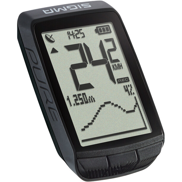 SIGMA SPORT Pure GPS Cykelcomputer, black