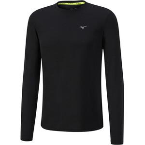 Mizuno Impulse Core Langarm T-Shirt Herren black black