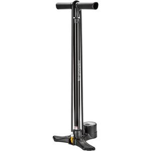 Lezyne Macro Floor Drive Digital Standpumpe schwarz glänzend schwarz glänzend