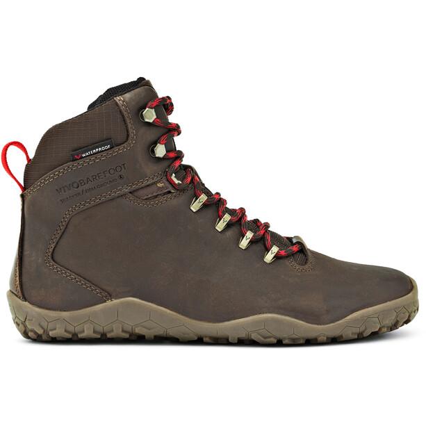 Vivobarefoot Tracker FG Leather Shoes Dam dark brown