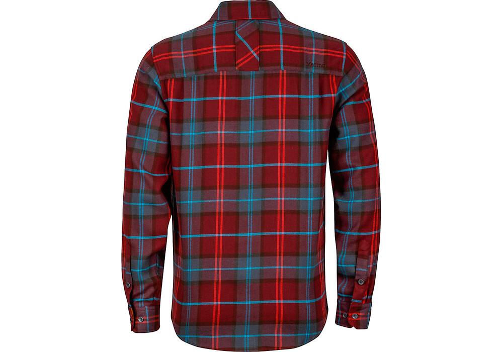 Marmot anderson ls flannel shirt men port for Marmot anderson flannel shirt men s