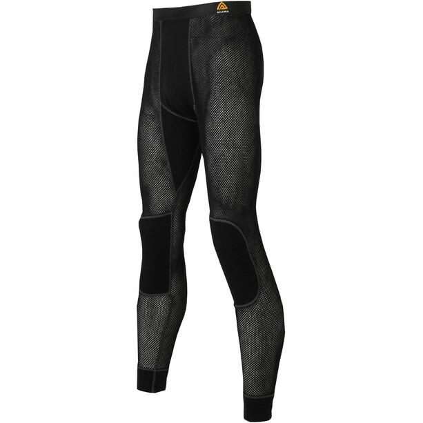 Aclima WoolNet Lange Unterhose Herren jet black