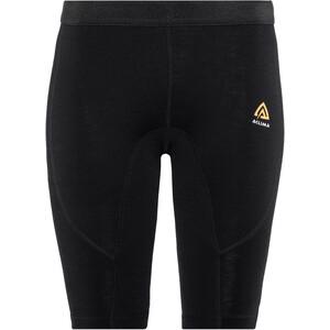 Aclima WarmWool Shorts Lang Damen jet black jet black