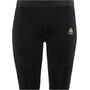 Aclima WarmWool Shorts Lang Damen jet black