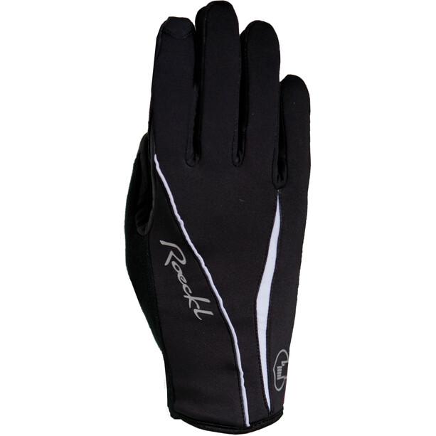 Roeckl Wanda Handschuhe Damen schwarz/weiß