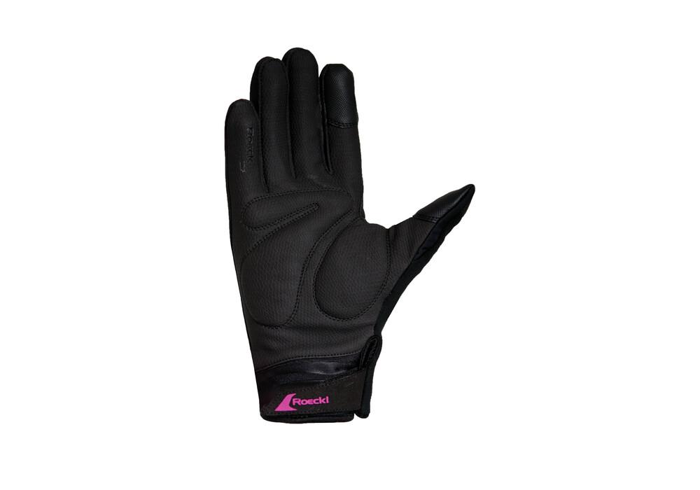 roeckl wanda damen handschuhe schwarz pink online kaufen. Black Bedroom Furniture Sets. Home Design Ideas