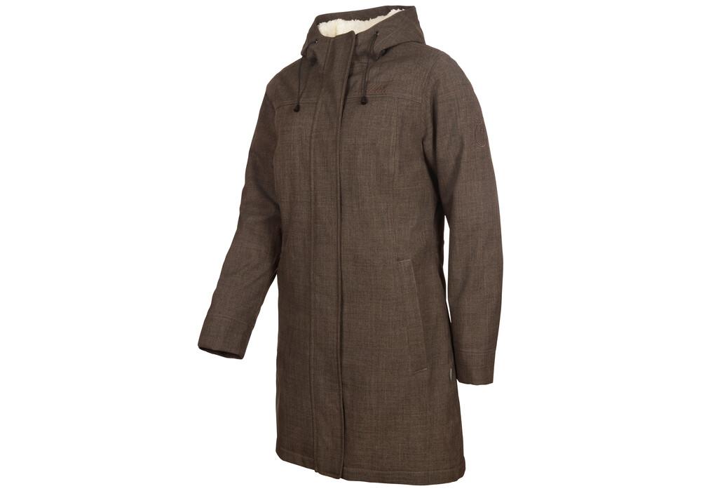elkline apres ski jas dames bruin l nu bij outdoor winkel. Black Bedroom Furniture Sets. Home Design Ideas