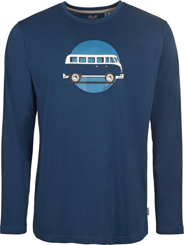 Elkline Stimmtimmernoch Longsleeve Shirt Men Petrol L 2017 Langarmshirts, Gr. L