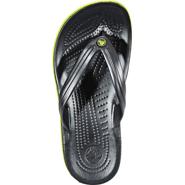 Crocs Crocband Flache Sandalen grau