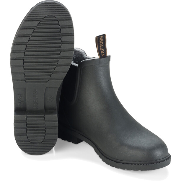 Tretorn Chelsea Classic Winter Rain Boots Unisex black