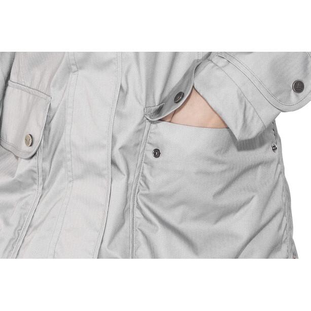 Finside Joutsen Zip-In Jacke Damen silver melange