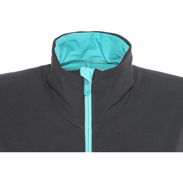Salomon Elevate Softshell Jacke Damen black/blue bird