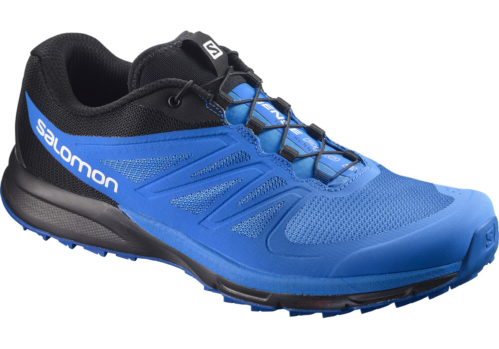salomon sense pro 2 chaussures de running homme bleu noir sur. Black Bedroom Furniture Sets. Home Design Ideas