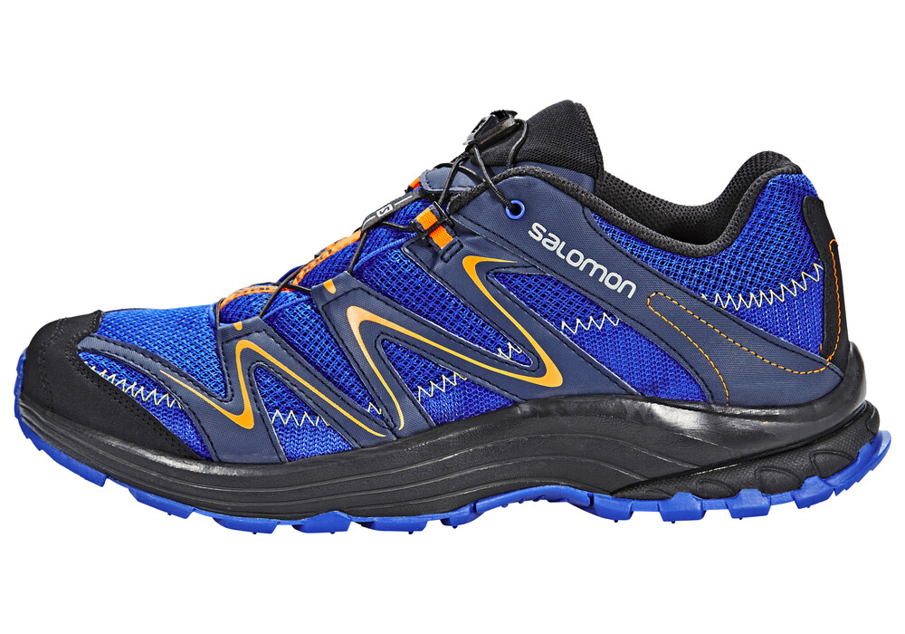 salomon trail score chaussures de running homme bleu sur. Black Bedroom Furniture Sets. Home Design Ideas