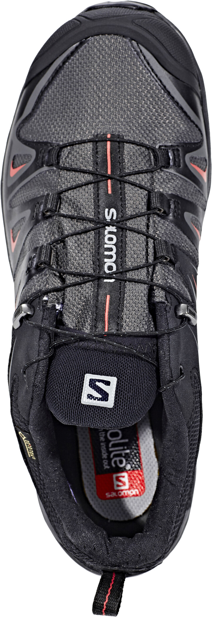 Salomon X Ultra 3 GTX Wanderschuhe Damen magnetblackmineral red 5oe4b