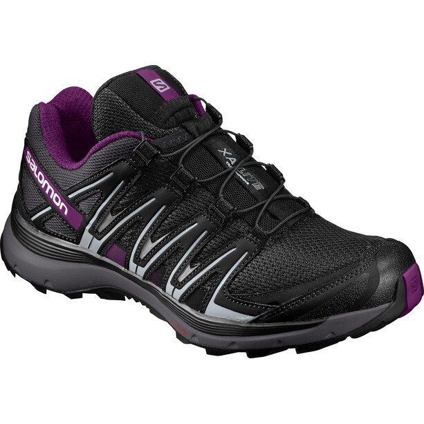 Salomon XA Lite Trailrunning Schuhe Damen Black/Magnet/Grape Juice