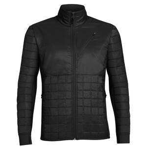 Icebreaker Helix LS Zip Jacket Herr black/black/black black/black/black