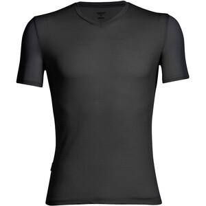 Icebreaker Anatomica SS V Shirt Herr black/monsoon black/monsoon