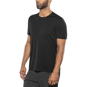 Icebreaker Tech Lite SS Crewe Shirt Herr black black