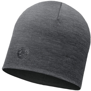 Buff Heavyweight Merino Wool Casquette Normal, gris gris
