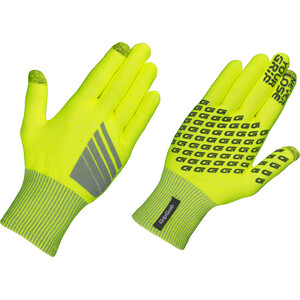 GripGrab Primavera Hi-Vis Midseason Handschuhe fluo yellow fluo yellow