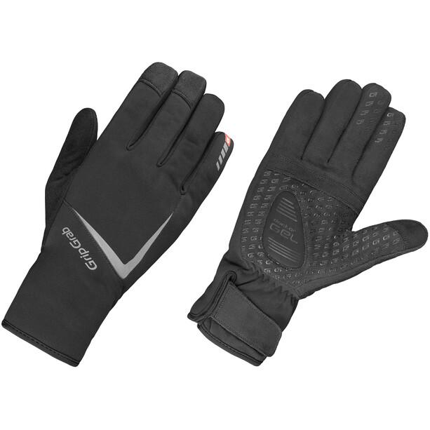 GripGrab Optimus Wasserdichte Winterhandschuhe schwarz