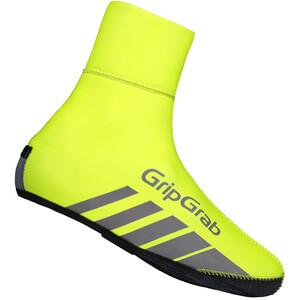 GripGrab RaceThermo Hi-Vis Wasserdichte Winter-Überschuhe gelb gelb