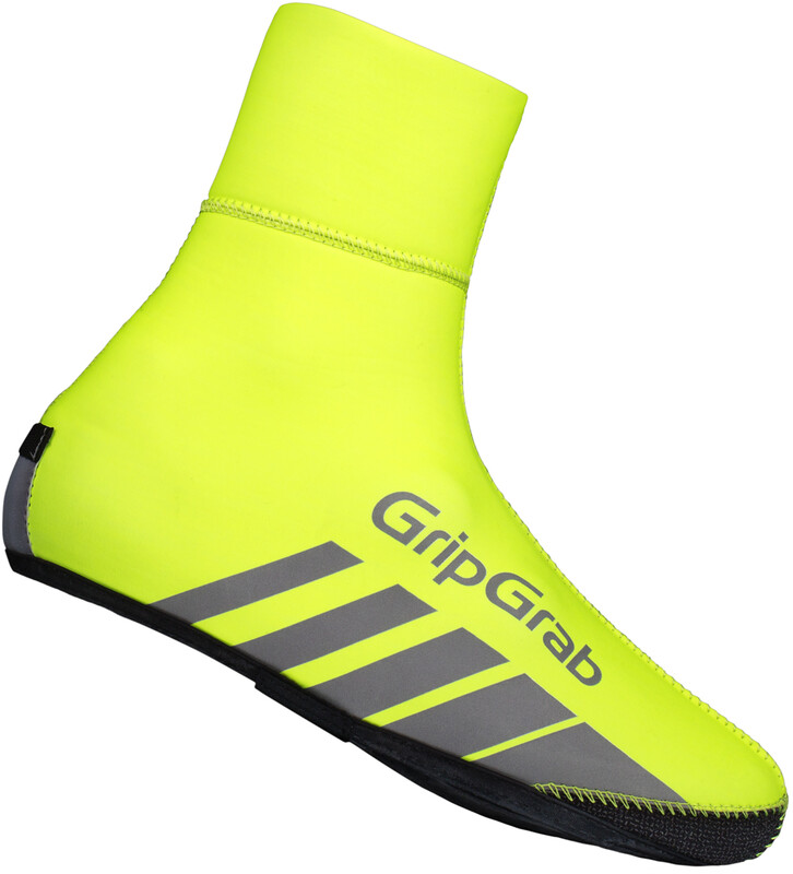 GripGrab RaceThermo Hi-Vis Overshoe Fluo Yellow XXL 2018 Accessoires, Gr. XXL