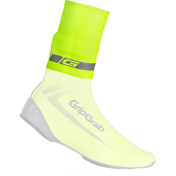 GripGrab CyclinGaiter Hi-Vis Regenwetter Gamasche fluo yellow