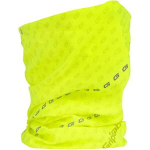 GripGrab Multifunctional Reflektierender Hi-Vis Nackenwärmer gelb gelb