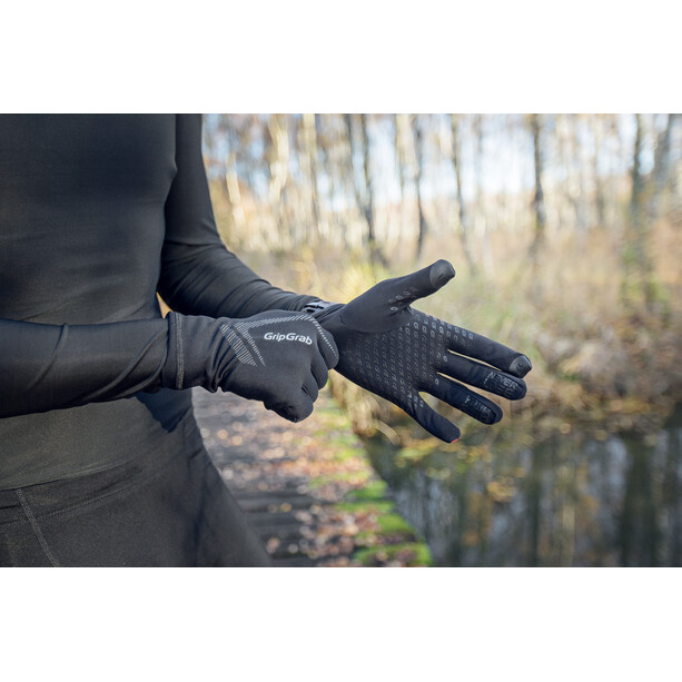 GripGrab Running UltraLight Touchscreen Handschuhe black