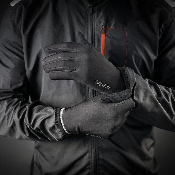 GripGrab Running Basic Winterhandschuhe black