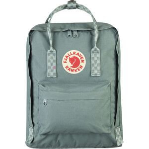 Fjällräven Kånken Backpack frost green/chess pattern frost green/chess pattern